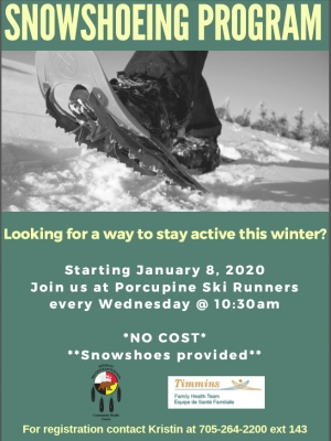 Snowshoeing Program